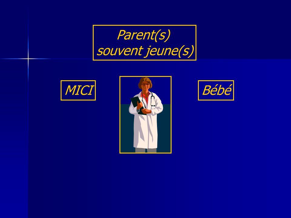Parent(s) souvent jeune(s) MICI Bébé