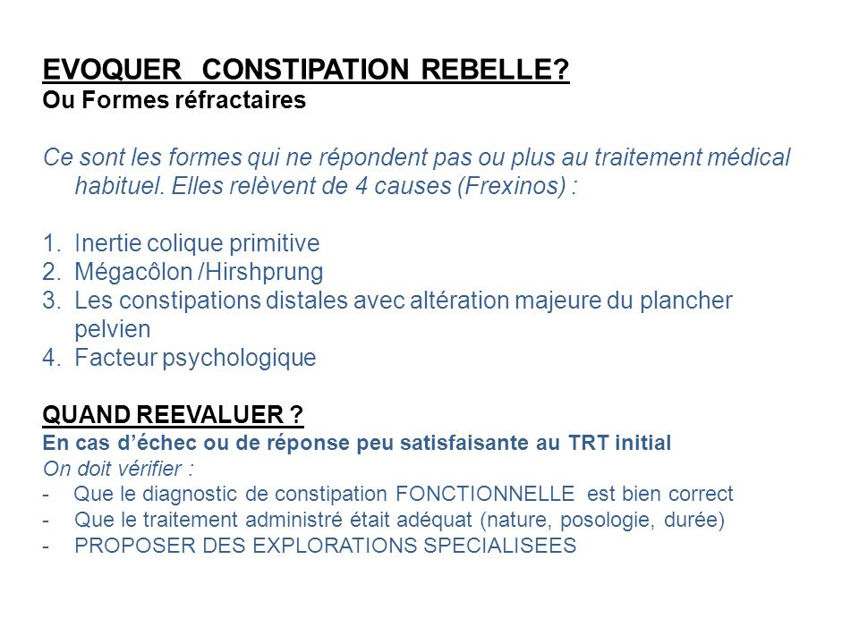 EVOQUER CONSTIPATION REBELLE