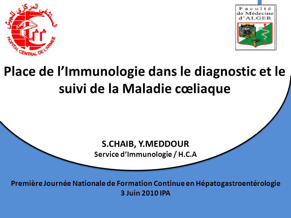 Service d'Immunologie / H.C.A