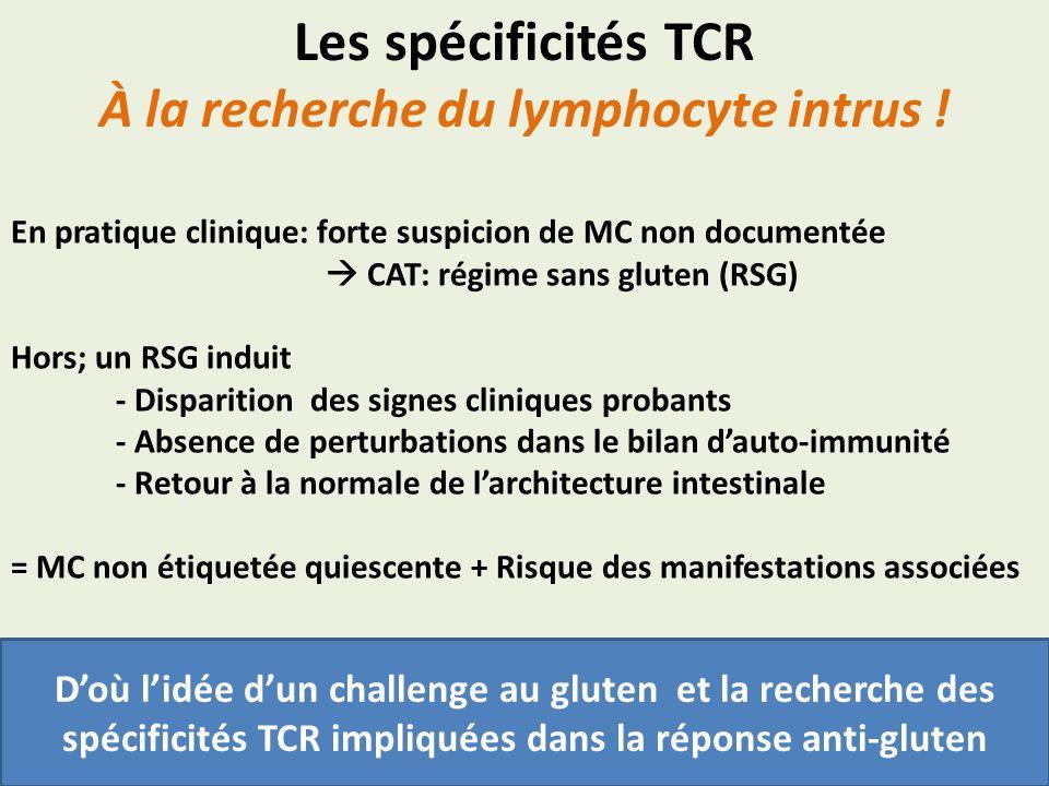 À la recherche du lymphocyte intrus !