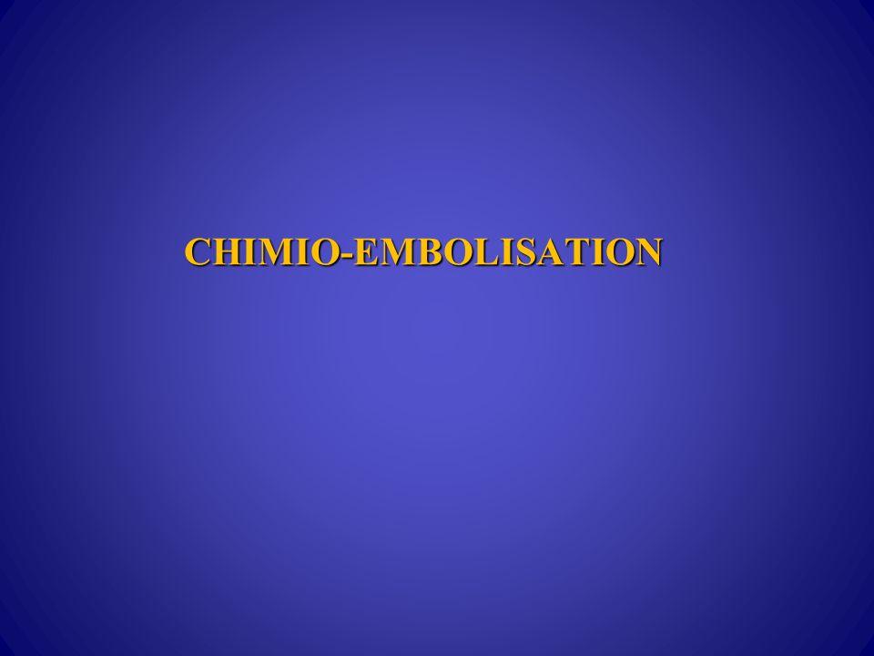CHIMIO-EMBOLISATION