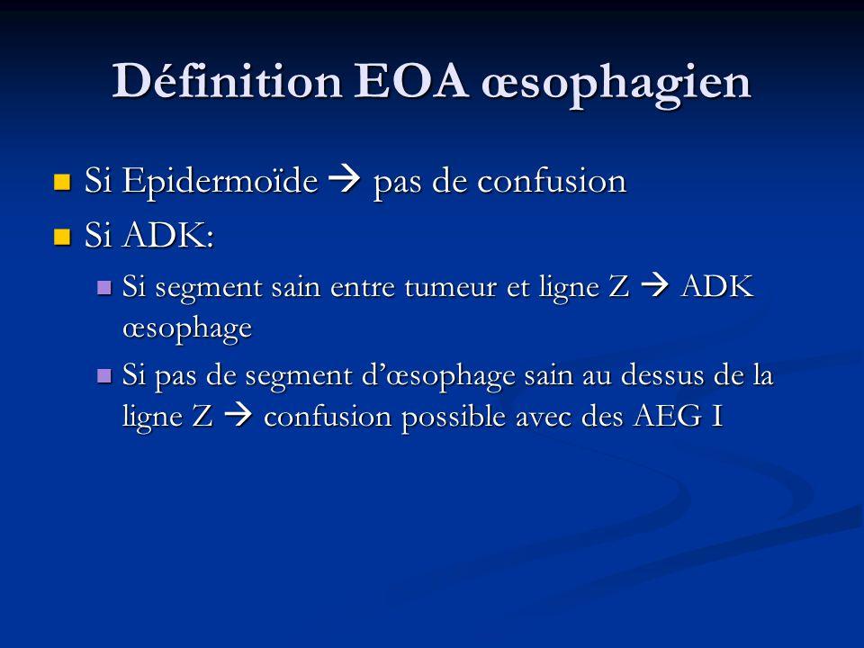 Définition EOA œsophagien