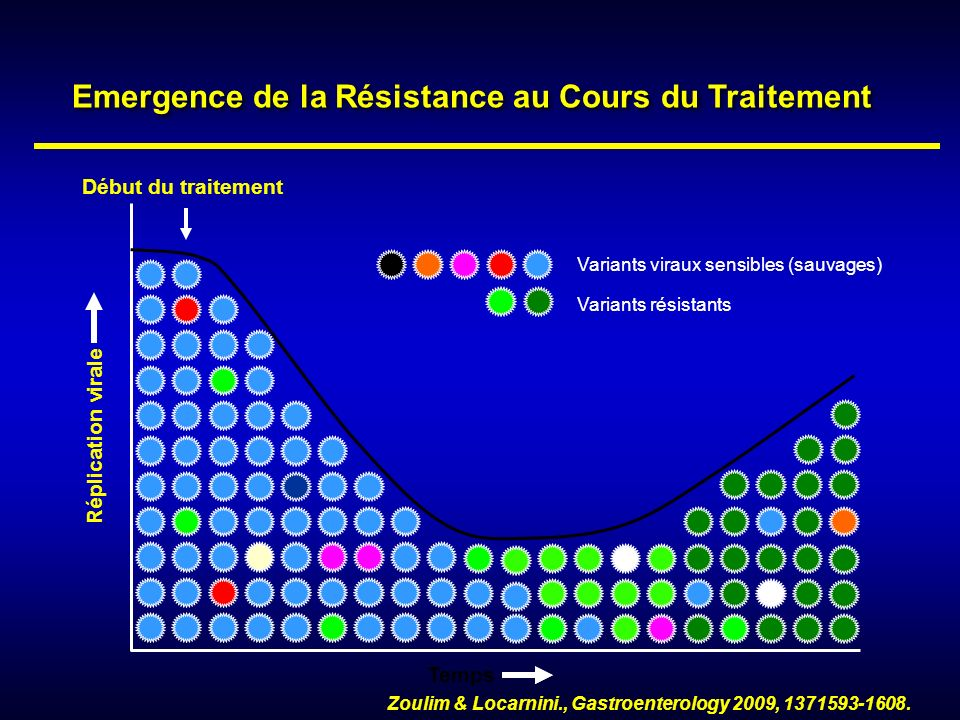 Emergence de la Résistance au Cours du Traitement