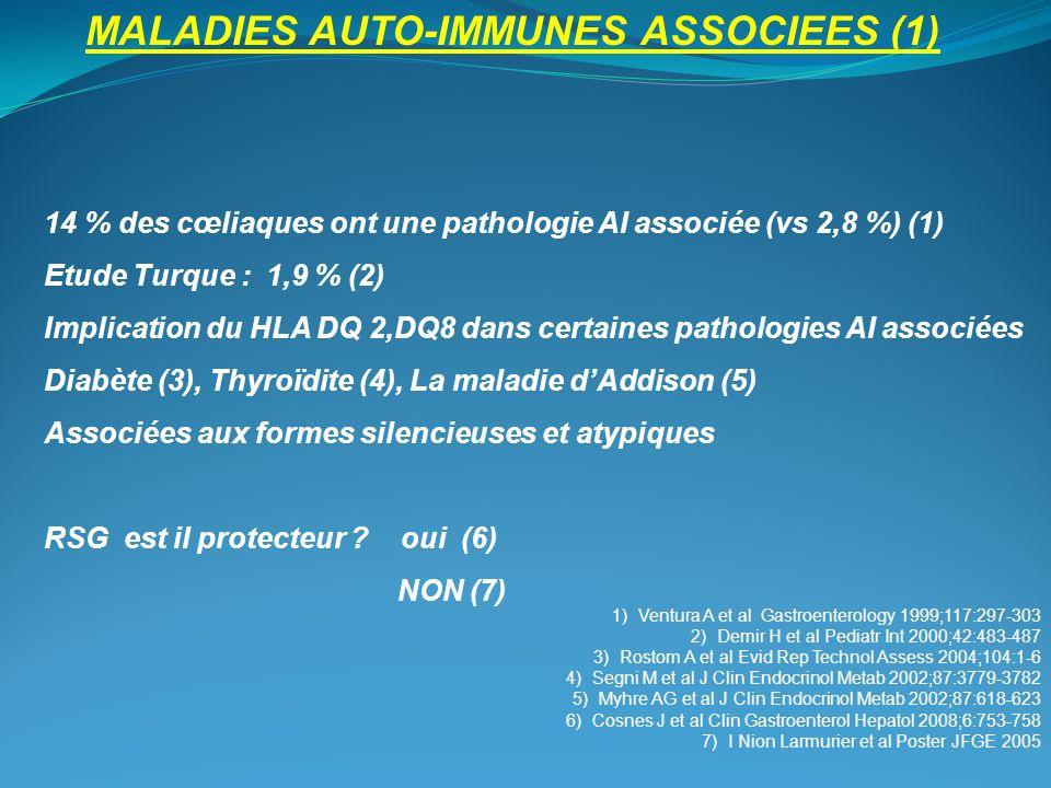 MALADIES AUTO-IMMUNES ASSOCIEES (1)