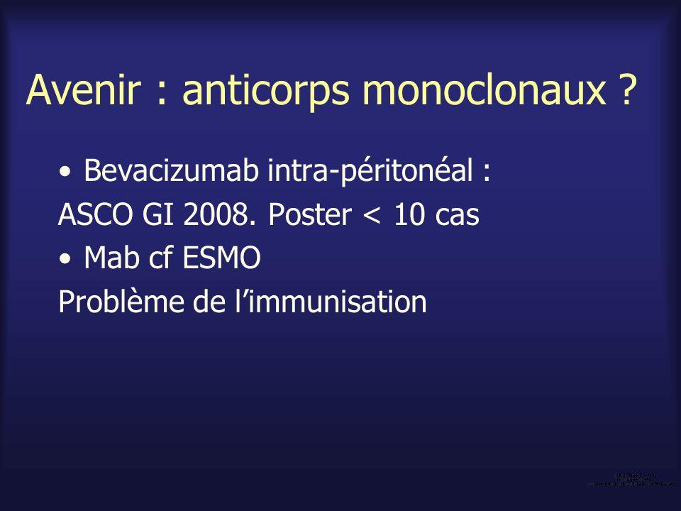 Avenir : anticorps monoclonaux