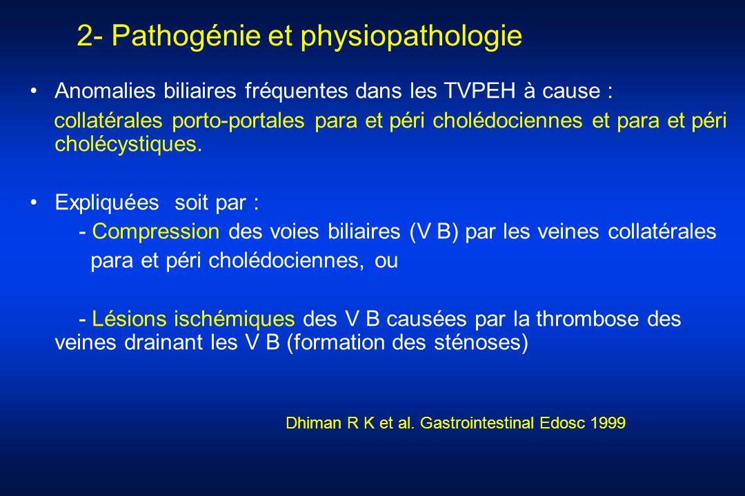 2- Pathogénie et physiopathologie