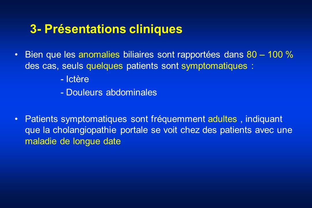 3- Présentations cliniques
