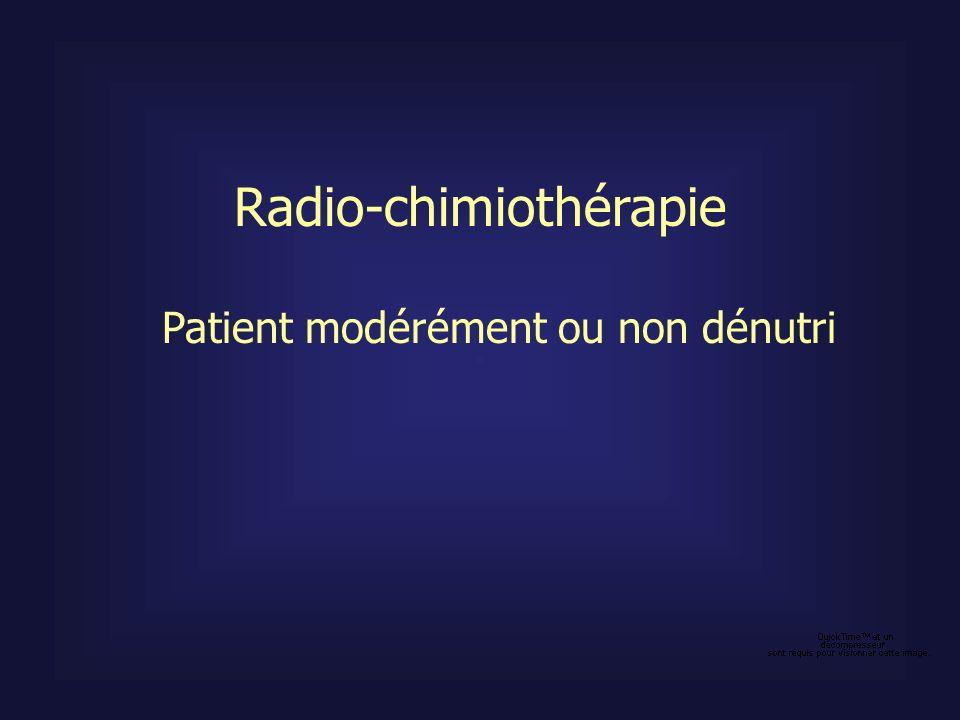 Radio-chimiothérapie