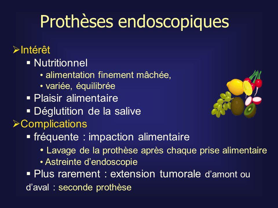 Prothèses endoscopiques