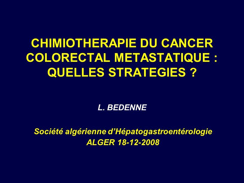 Société algérienne d'Hépatogastroentérologie ALGER 18-12-2008