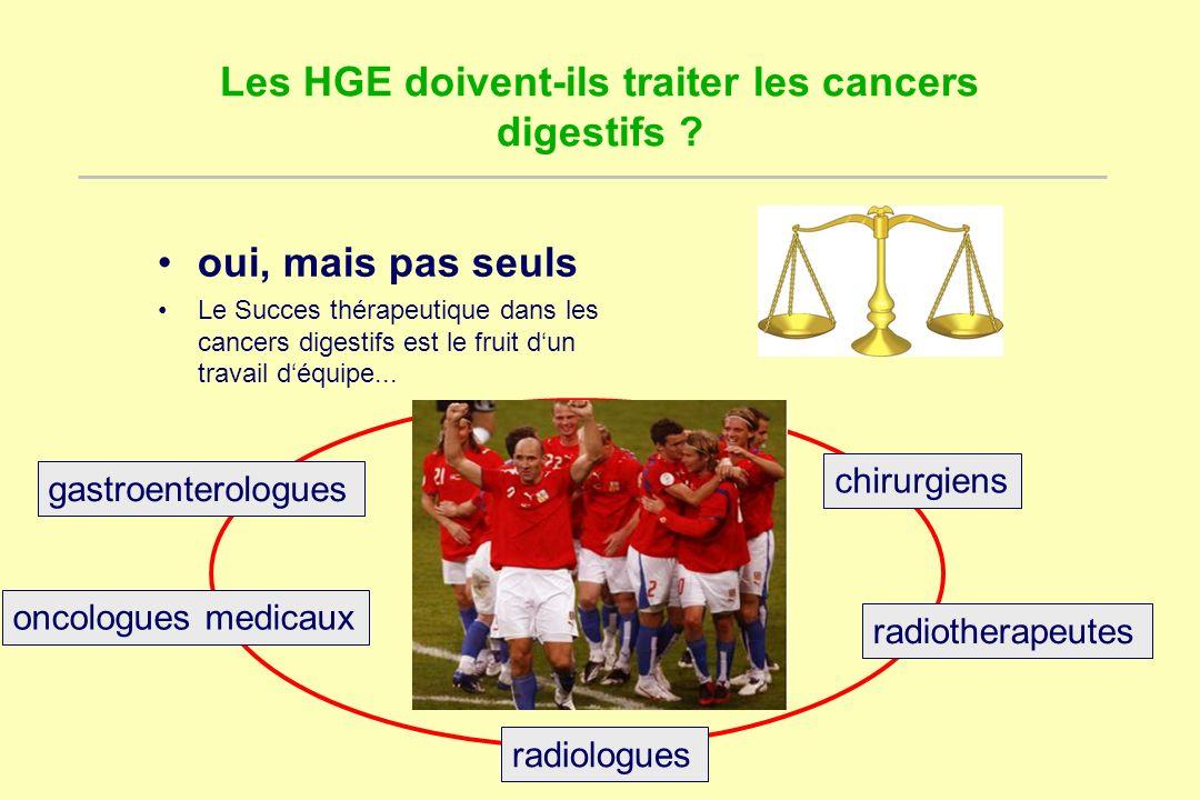 Les HGE doivent-ils traiter les cancers digestifs