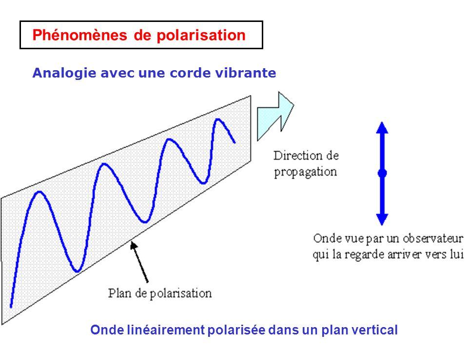 Phénomènes de polarisation