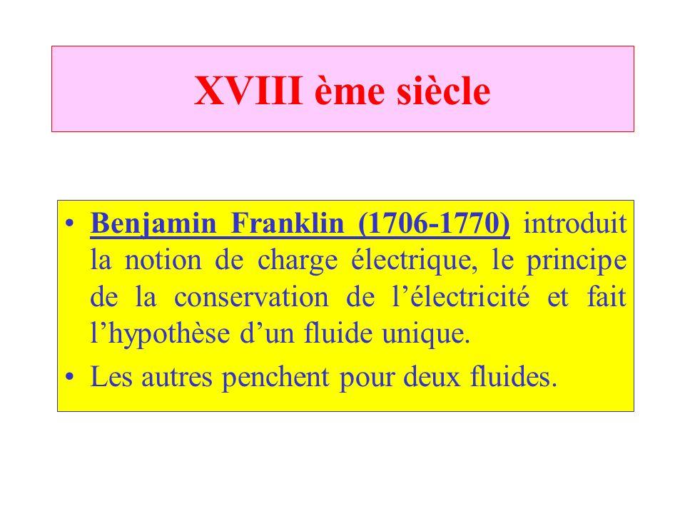 XVIII ème siècle