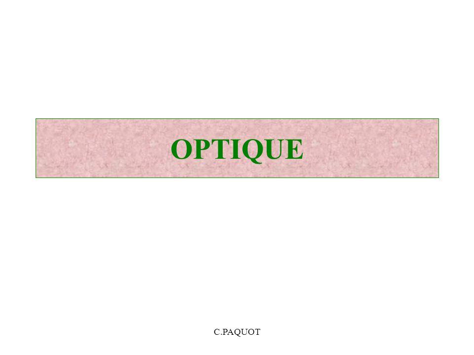 OPTIQUE C.PAQUOT