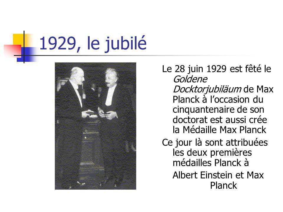 Albert Einstein et Max Planck