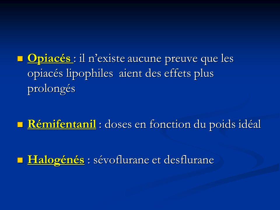 Opiacés : il n'existe aucune preuve que les opiacés lipophiles aient des effets plus prolongés