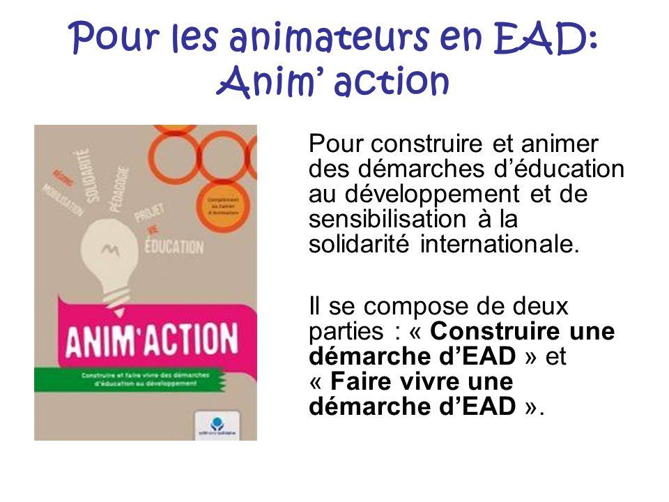 Pour les animateurs en EAD: Anim' action