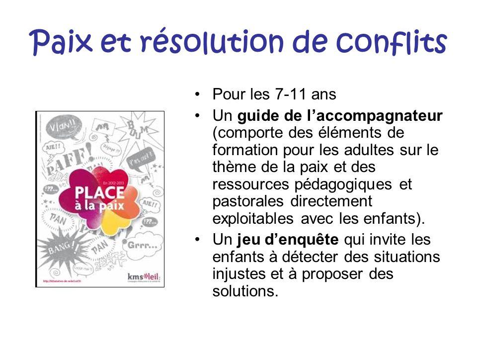 Paix et résolution de conflits