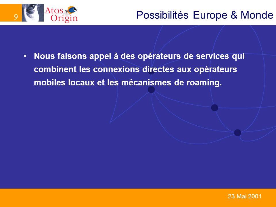 Possibilités Europe & Monde