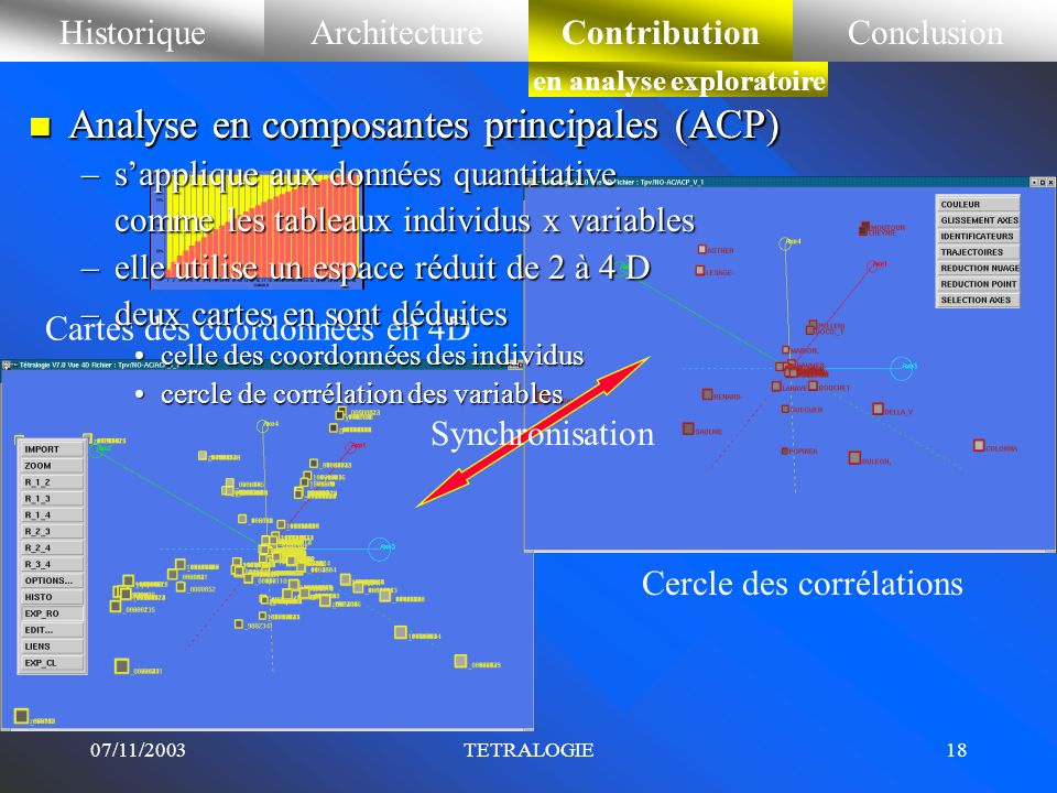 en analyse exploratoire