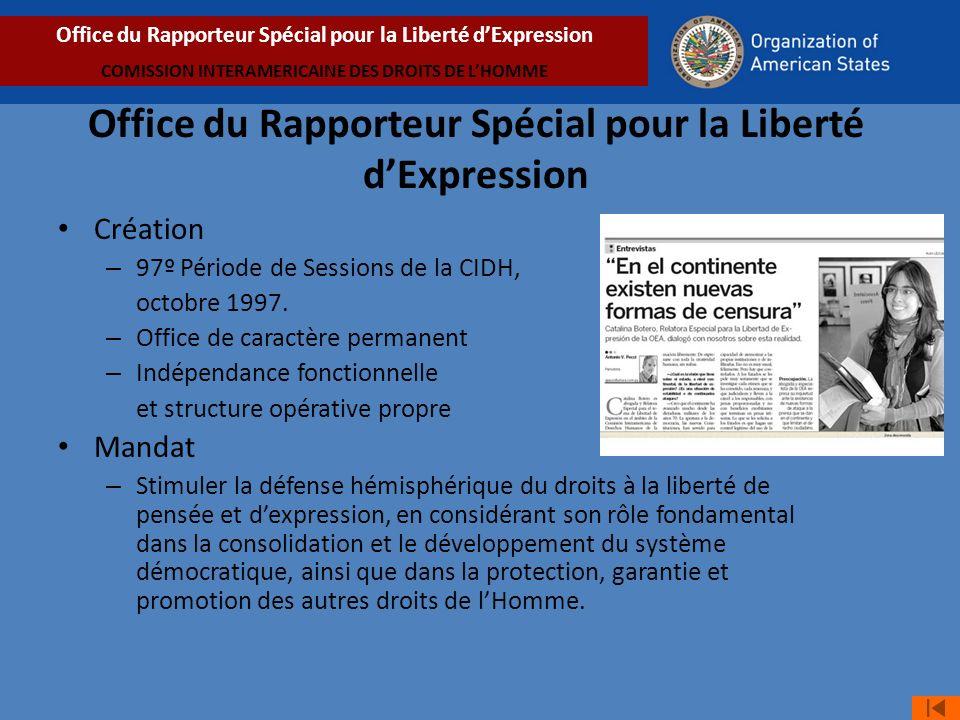 Office du Rapporteur Spécial pour la Liberté d'Expression