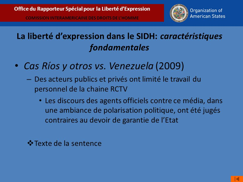 Cas Ríos y otros vs. Venezuela (2009)