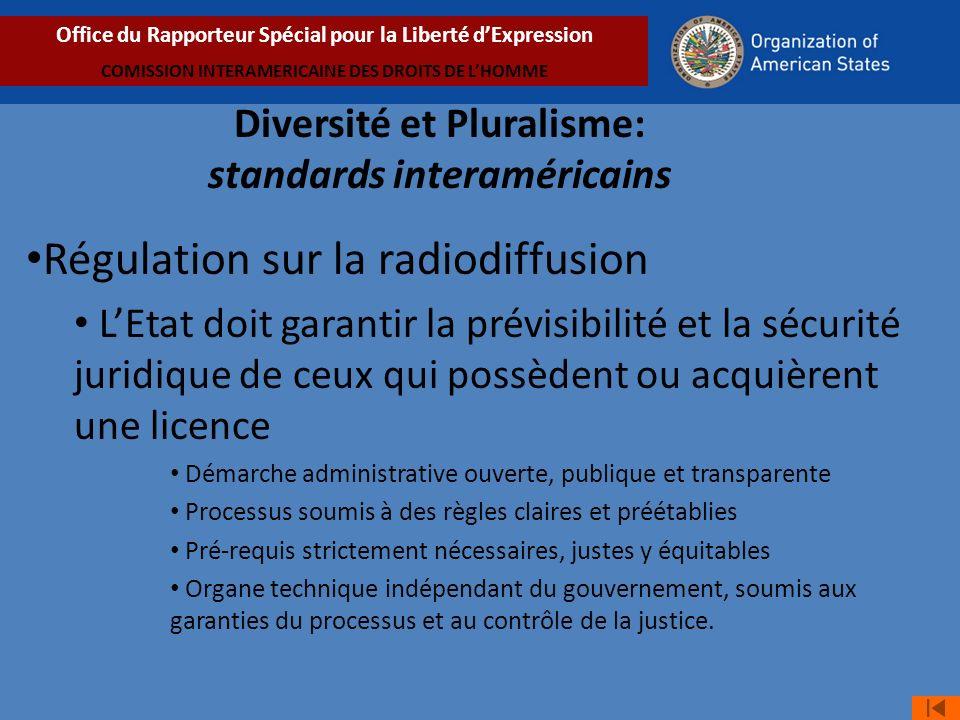 Régulation sur la radiodiffusion