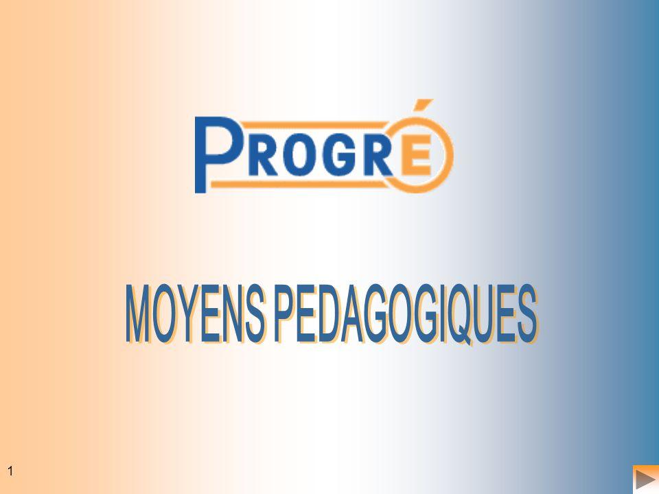 MOYENS PEDAGOGIQUES