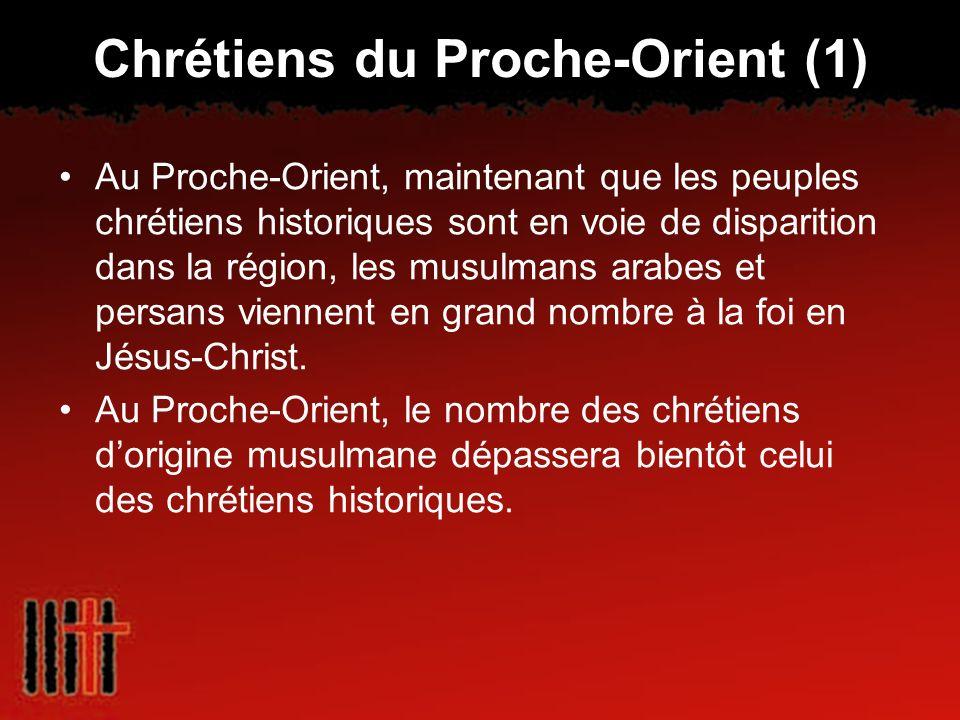 Chrétiens du Proche-Orient (1)