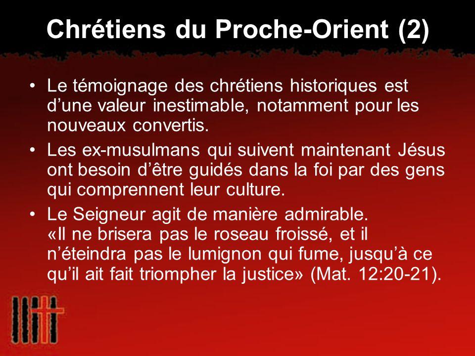 Chrétiens du Proche-Orient (2)