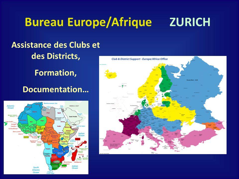 Bureau Europe/Afrique Assistance des Clubs et des Districts,