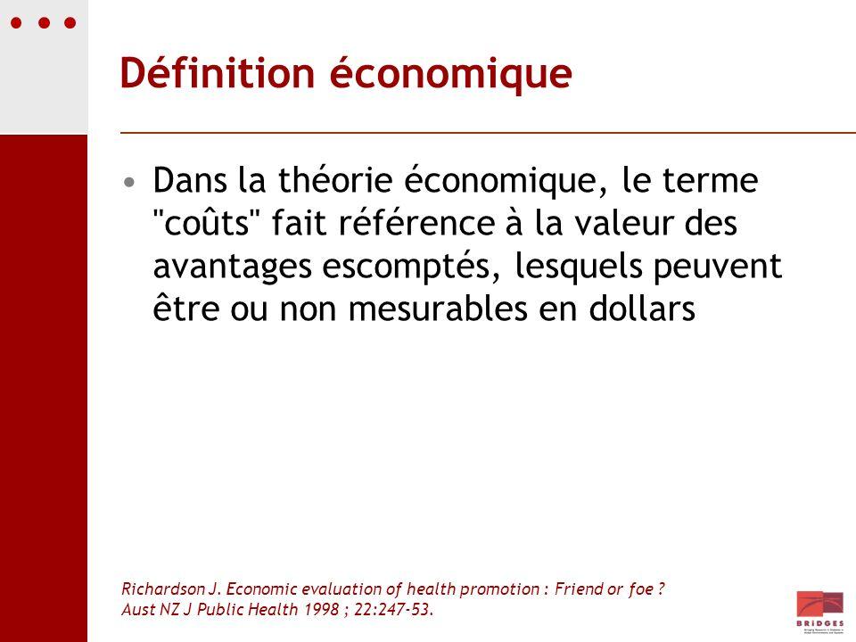 Définition économique