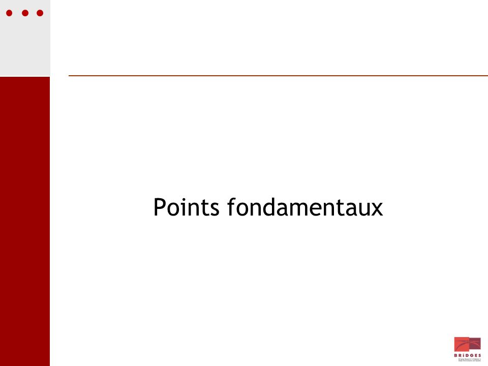 Points fondamentaux
