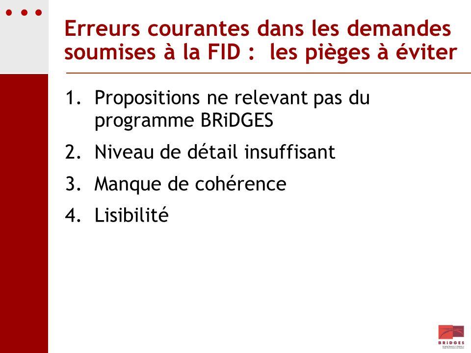 Erreurs courantes dans les demandes soumises à la FID : les pièges à éviter