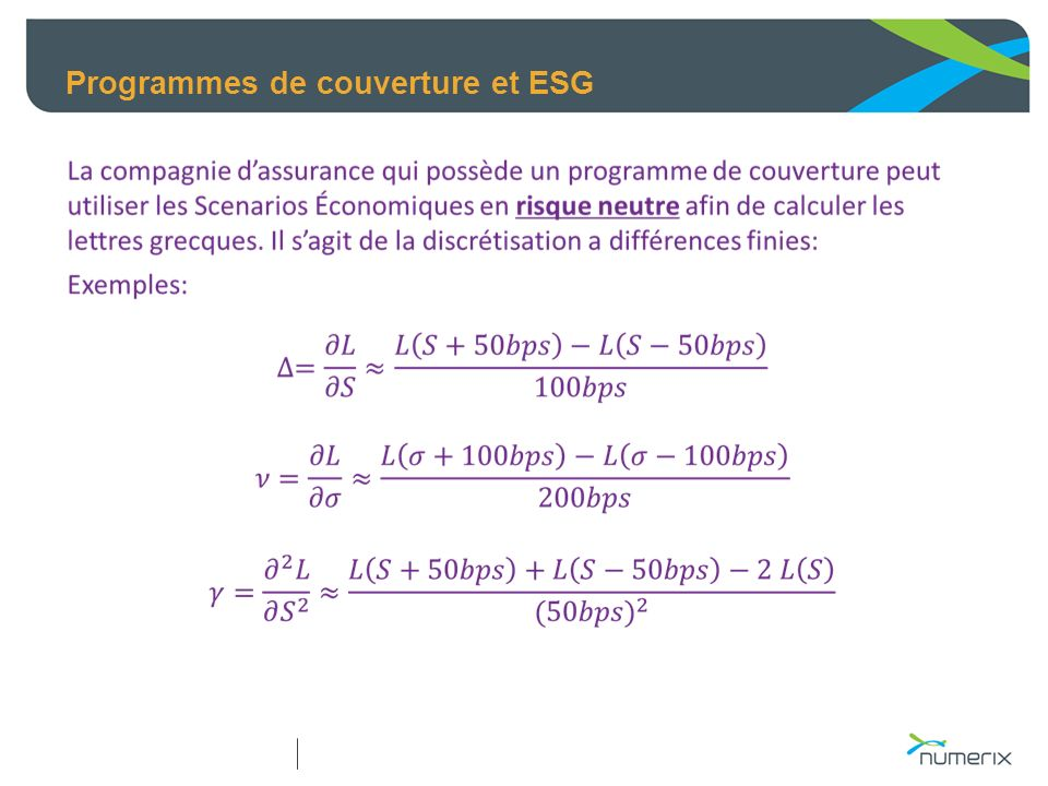 Programmes de couverture et ESG
