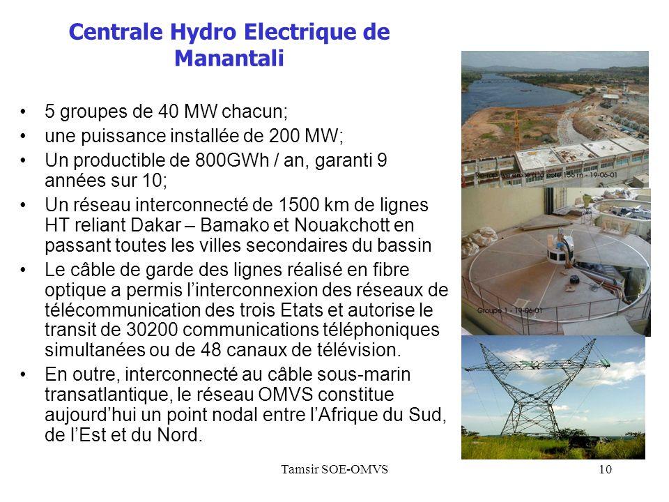 Centrale Hydro Electrique de Manantali