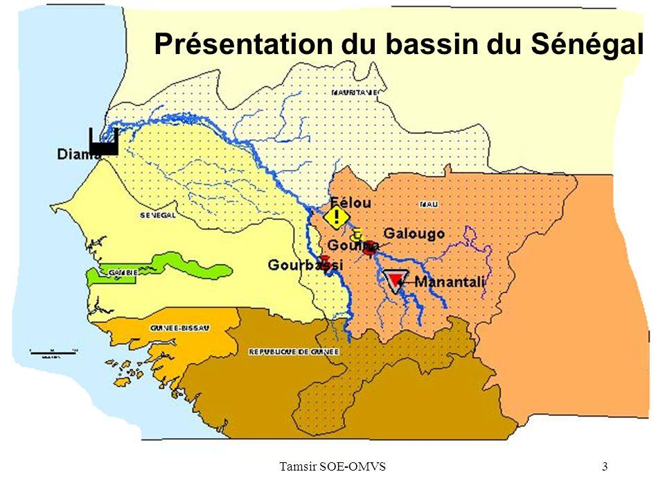 Présentation du bassin du Sénégal
