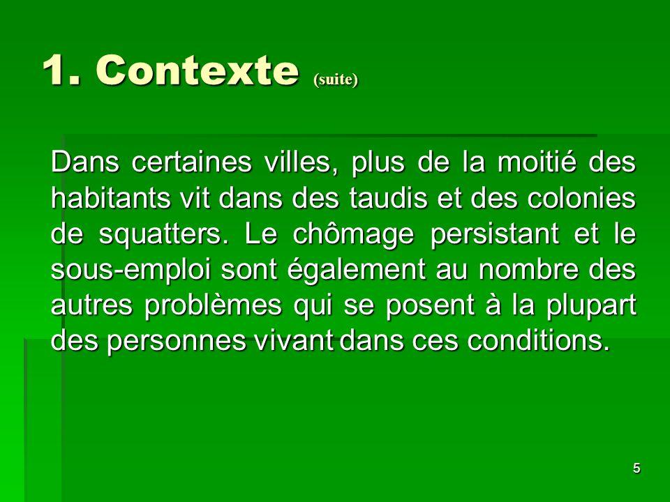 1. Contexte (suite)