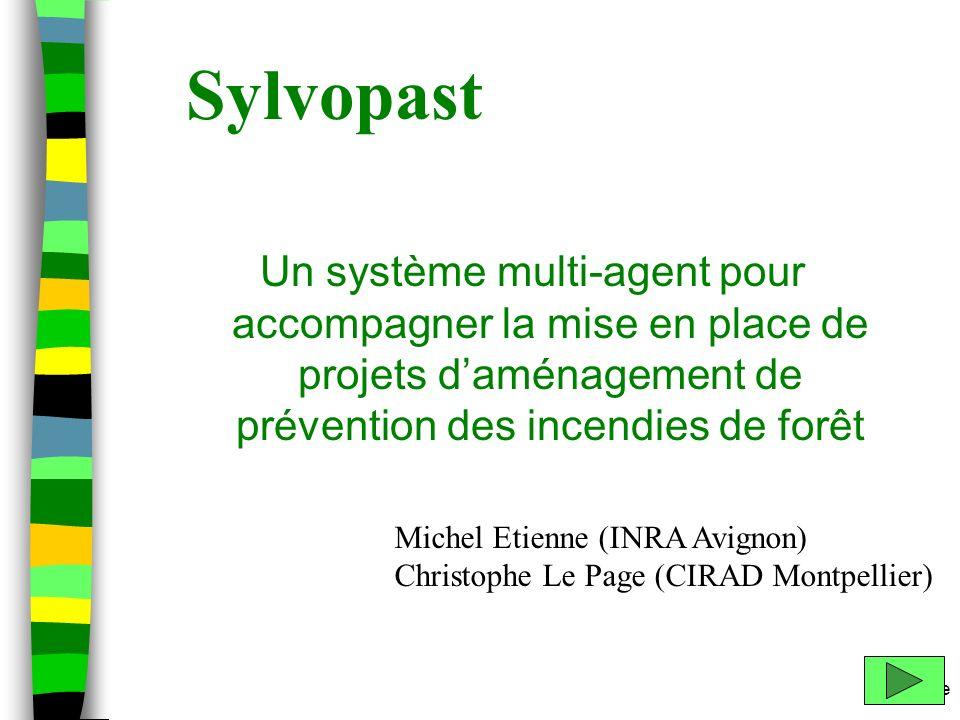 Sylvopast Un système multi-agent pour accompagner la mise en place de projets d'aménagement de prévention des incendies de forêt.