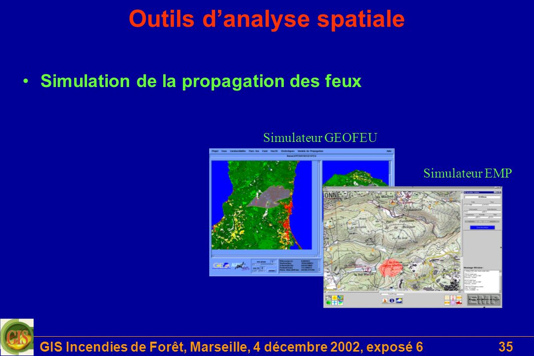 Outils d'analyse spatiale