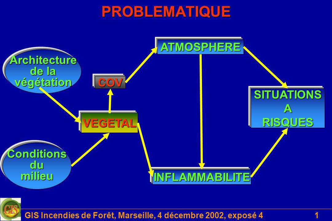 GIS Incendies de Forêt, Marseille, 4 décembre 2002, exposé 4