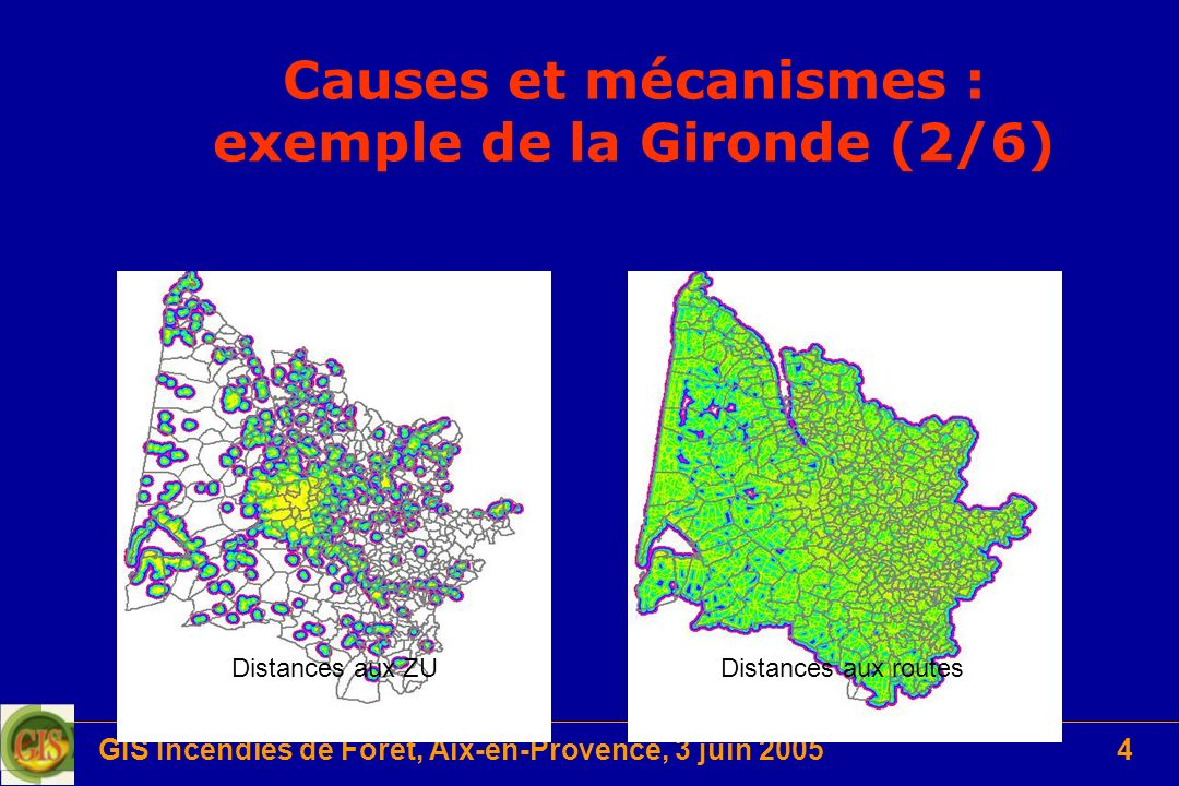 Causes et mécanismes : exemple de la Gironde (2/6)
