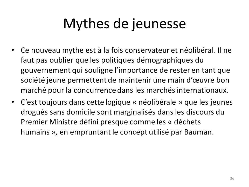 Mythes de jeunesse