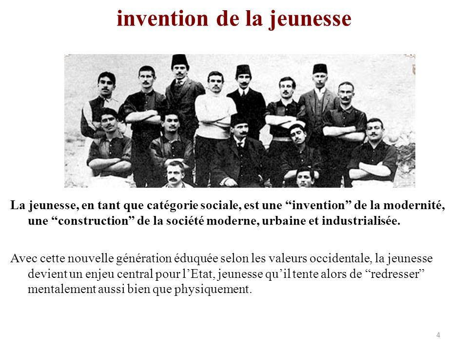 invention de la jeunesse