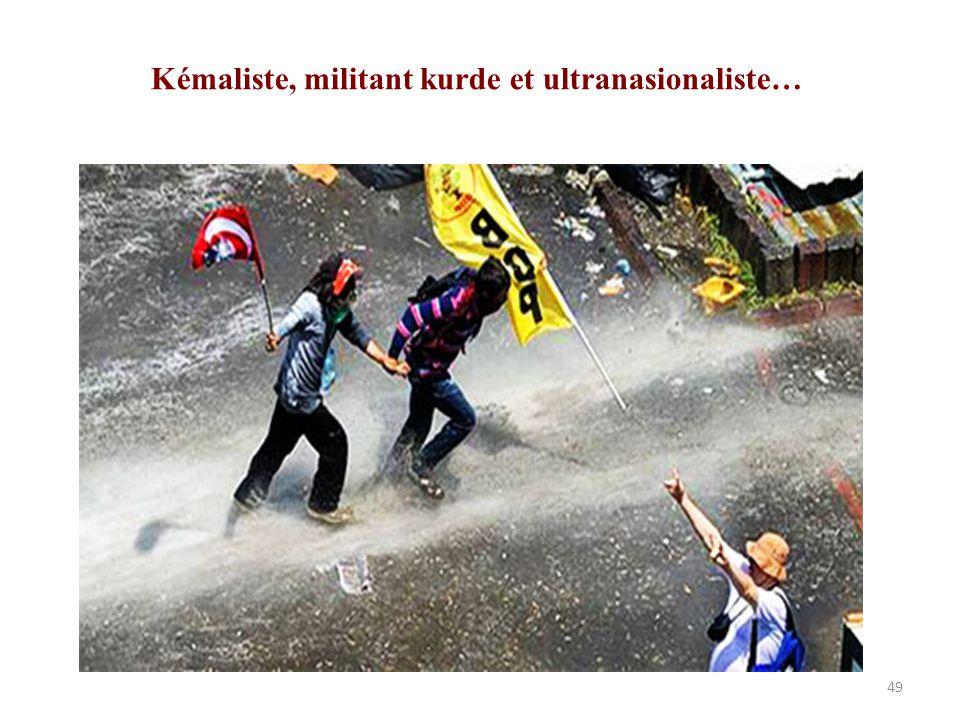 Kémaliste, militant kurde et ultranasionaliste…
