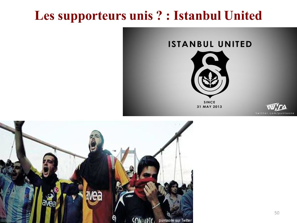 Les supporteurs unis : Istanbul United