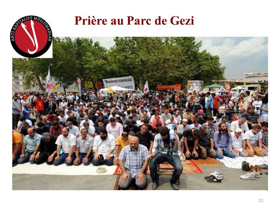 Prière au Parc de Gezi