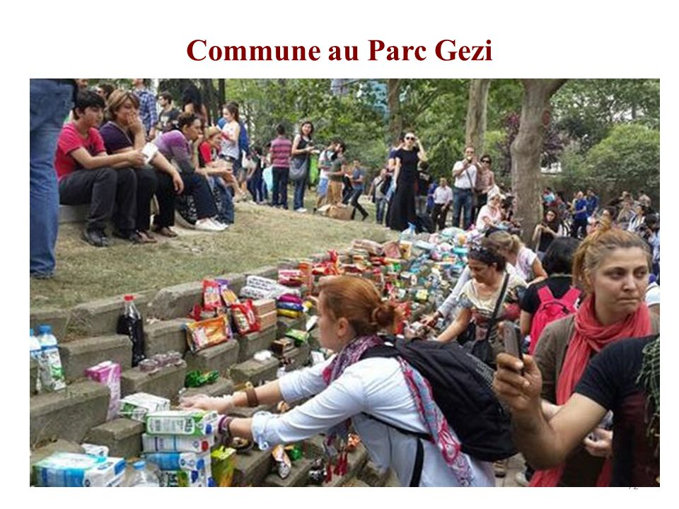 Commune au Parc Gezi