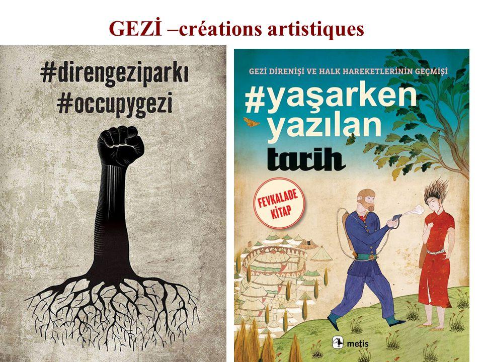 GEZİ –créations artistiques