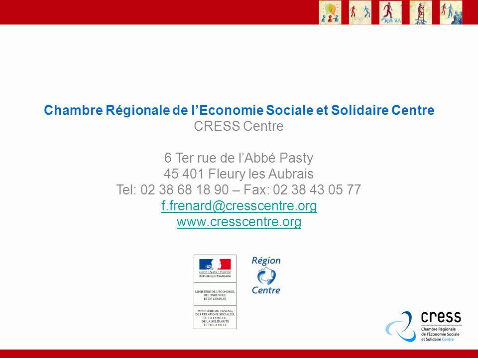 Chambre Régionale de l'Economie Sociale et Solidaire Centre